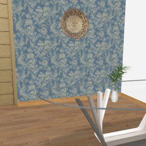 House 1. Interior Design Render