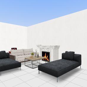 Living room Alhambra Interior Design Render