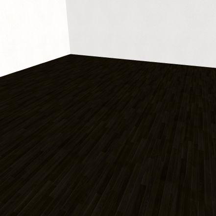 rumah 2 kamar Interior Design Render