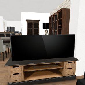 Projet 4 : extension courette entrée dépendance Interior Design Render