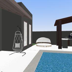 new buld Interior Design Render