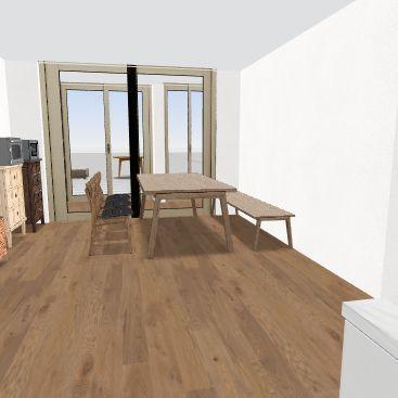 신당v1(주방버전변경) Interior Design Render