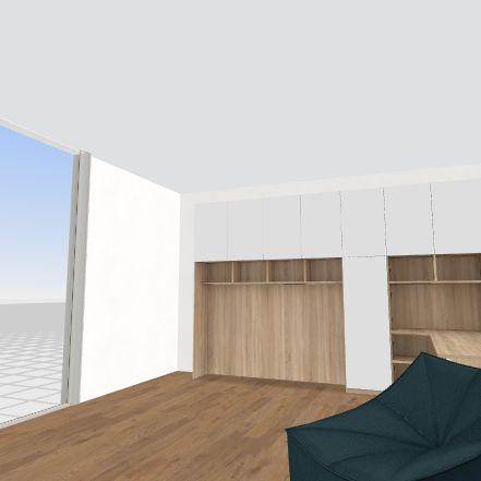 work Interior Design Render