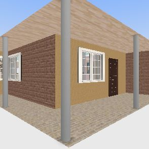 vacancy house Interior Design Render