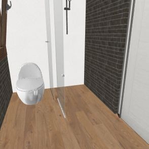 boven verdieping badkamer 3 Interior Design Render