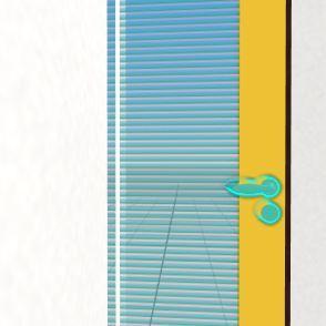 Yellow door Interior Design Render