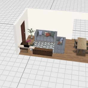sala mae Interior Design Render