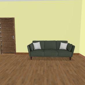 Проект комнаты геронтология Interior Design Render