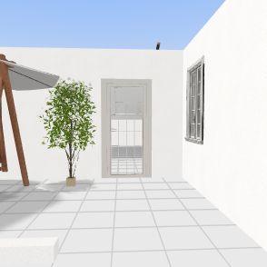 مطبخ مطل Interior Design Render
