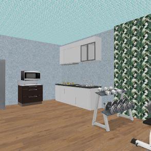 Bedroom #6 Interior Design Render
