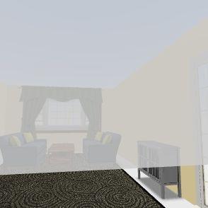 Dan's Living Room Interior Design Render