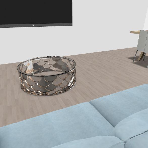 living area Interior Design Render