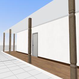 72.75m2 x2 Interior Design Render