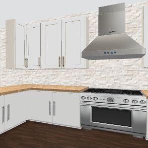 Dream Kitchen Design  Interior Design Render