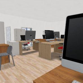 office_old_v1.1 Interior Design Render
