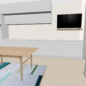 maison vacs trouv Interior Design Render