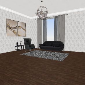 Large space Interior Design Render