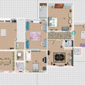 Final Room Interior Design Render