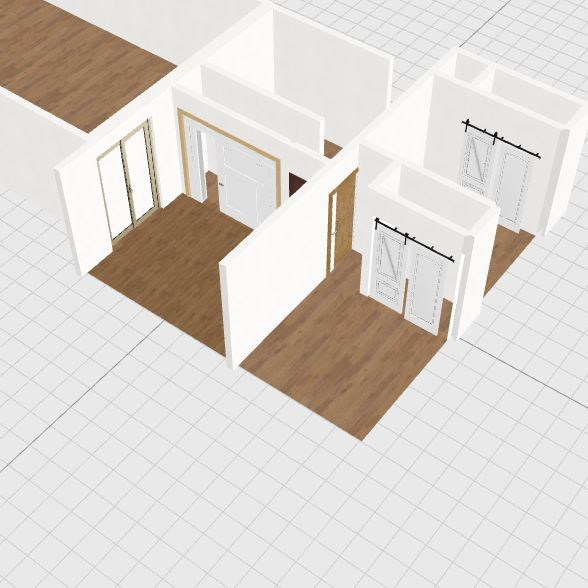 with addition existing house Interior Design Render