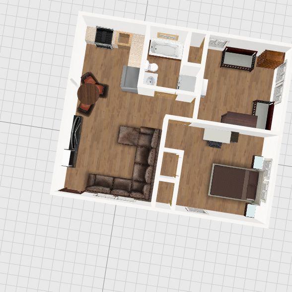 OG Apartment Interior Design Render
