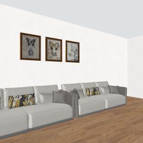 house #1 Interior Design Render