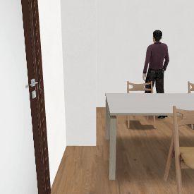 IN 4. Living back Shower middle Interior Design Render