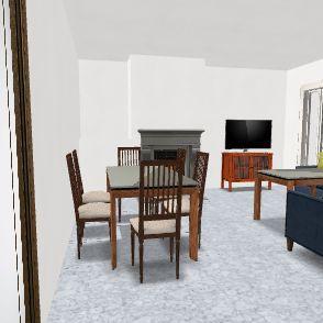 Casa Brenes Versión 2 Mari Interior Design Render