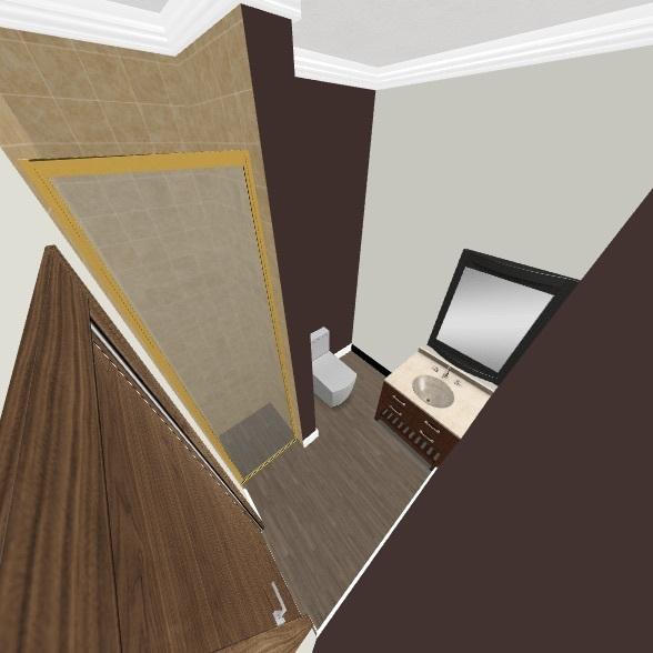 DOWNSTAIRS BATHROOM Interior Design Render