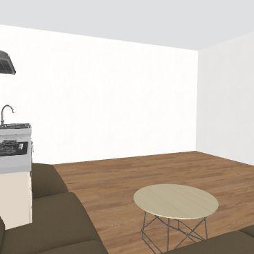 casa Roger Interior Design Render