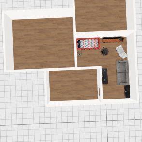 Casa de Ganadores Interior Design Render