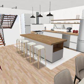 Maison Denise Interior Design Render