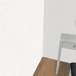 french house Interior Design Render