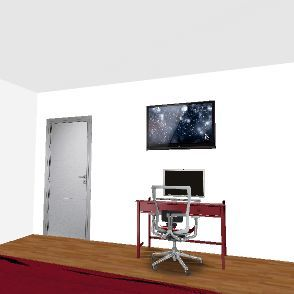 chambre noemie Interior Design Render