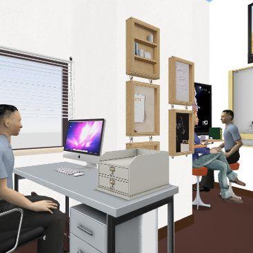 HelpDesk_03 Interior Design Render