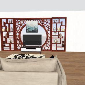 homw sweet home Interior Design Render