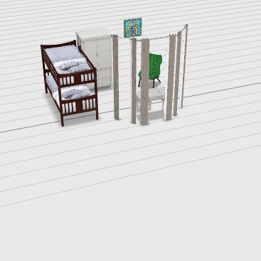 BEDROOM 1a Interior Design Render