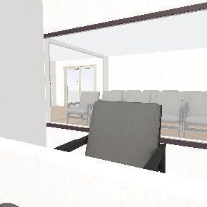 ER Waiting Room Interior Design Render