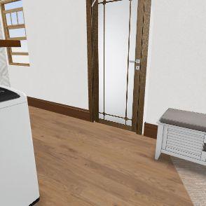 Gini's w/Walley Furniture (to scale) Interior Design Render