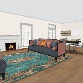 Template3 Interior Design Render
