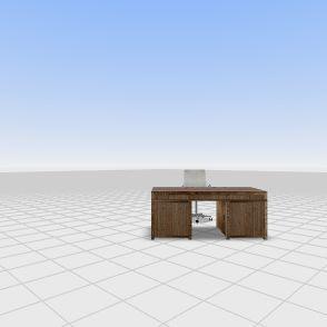 Main Office 1 Interior Design Render