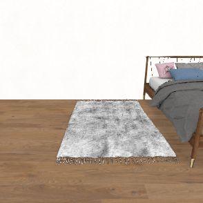 casual Interior Design Render