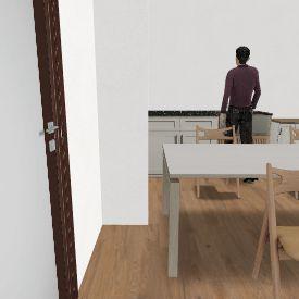 IN 6. Living back Shower middle left Interior Design Render