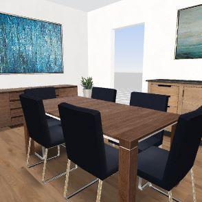 esszimmer Interior Design Render