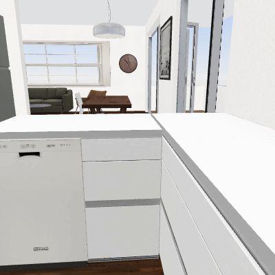 Colwell - stools kitchen Interior Design Render