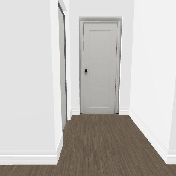 downstairs bedroom addtion Interior Design Render