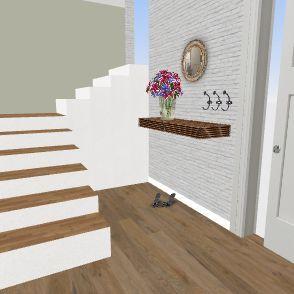 katreniak chodba Interior Design Render