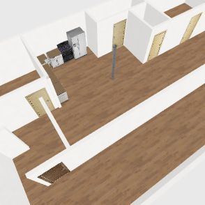 Lake House (Basement) Interior Design Render