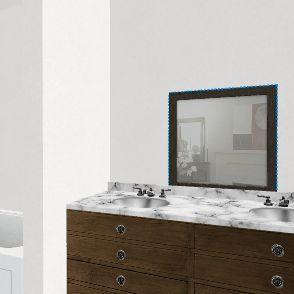 Bath B Interior Design Render