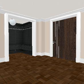 Beverly Hillary Hometown Plaza Suite. 08/01/19. Interior Design Render