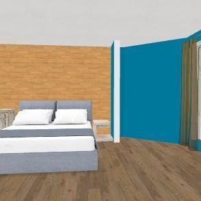 beddroom Interior Design Render
